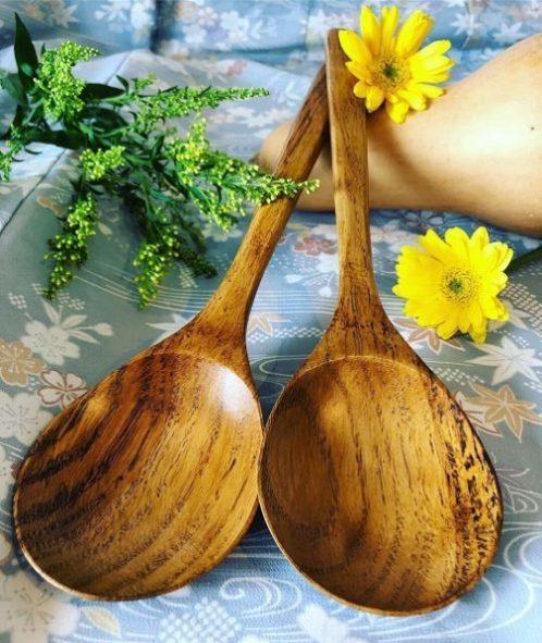 💕新製品クリの木で作った調理スプーン💕